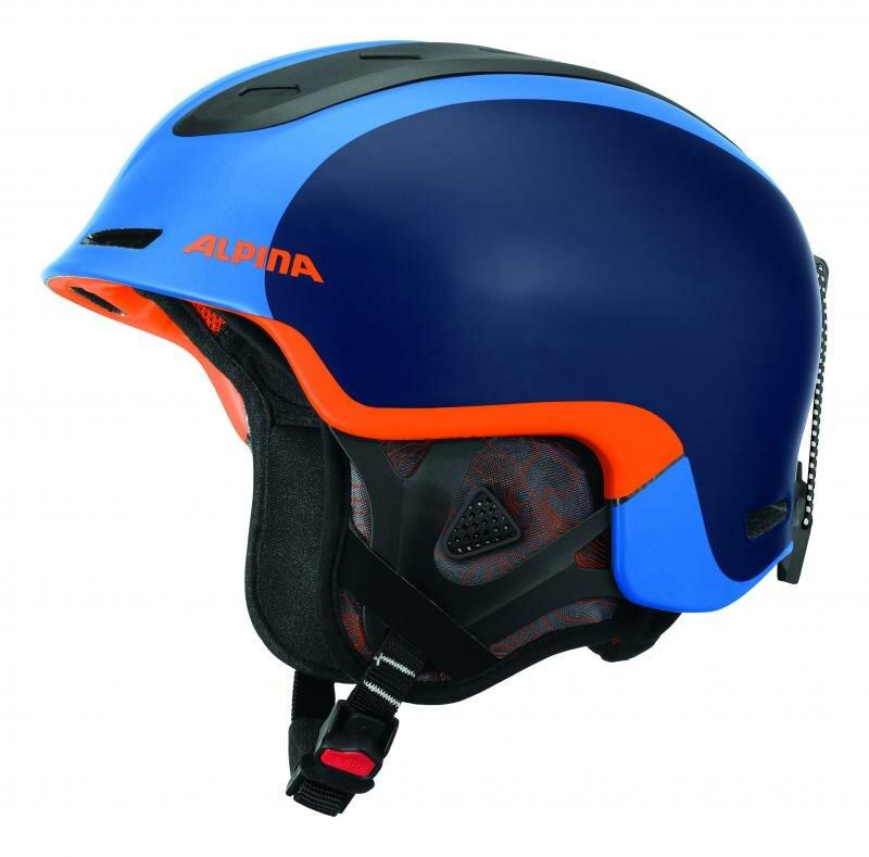 Modrá lyžařská helma Alpina - velikost 52-56 cm