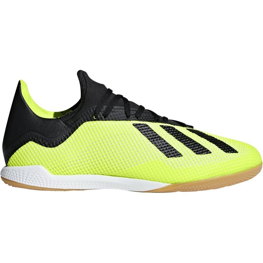 Černo-žluté kopačky - sálovky X Tango 18.3 IN, Adidas - velikost 42 EU