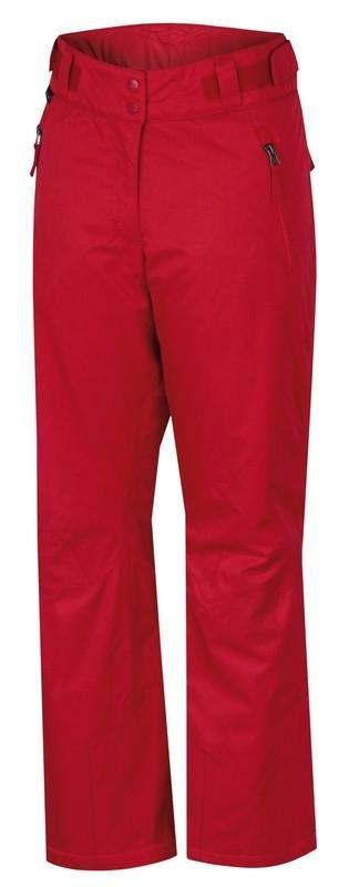 Červené dámské lyžařské kalhoty Hannah - velikost 36