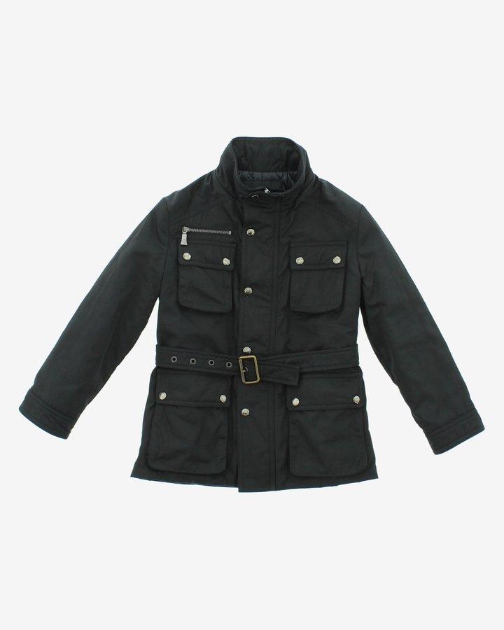 Černá dívčí bunda John Richmond - velikost 116