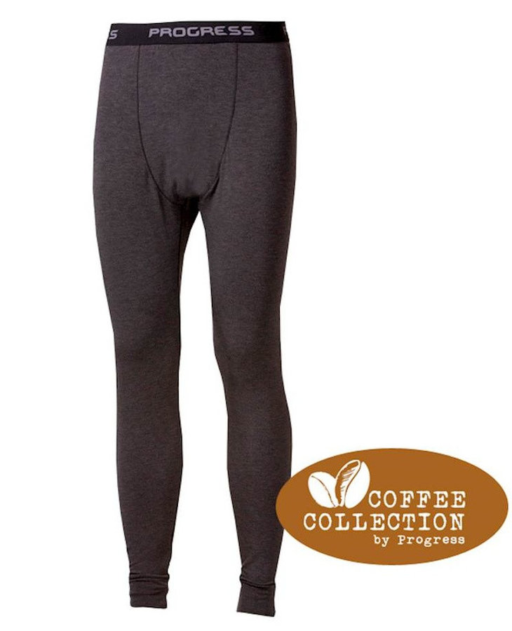 Černé pánské funkční kalhoty Progress