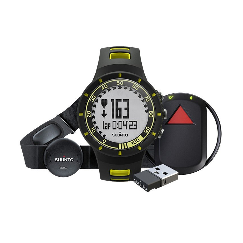 Sporttester - Sporttester Suunto Quest Yellow GPS Pack