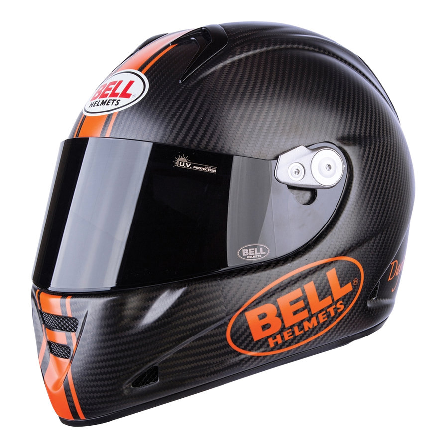 Helma na motorku M5X Carbon, Bell - velikost 59-60 cm