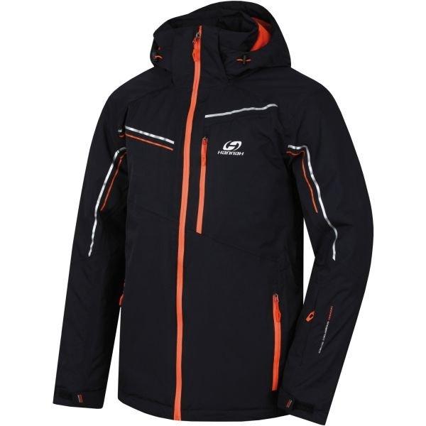Černá pánská lyžařská bunda Hannah - velikost S
