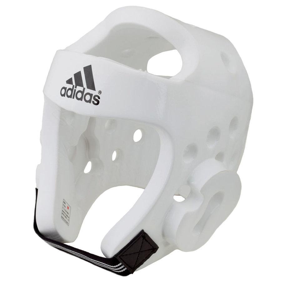 Bílá boxerská přilba Adidas - velikost XS