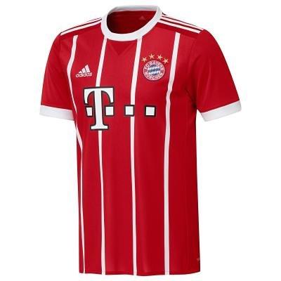 "Červený fotbalový dres ""FC Bayern Mnichov"", Adidas - velikost M"