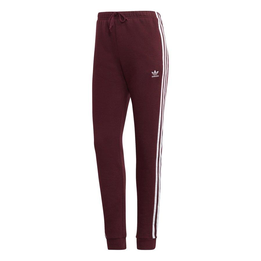 Červené dámské kalhoty Adidas - velikost XS-S