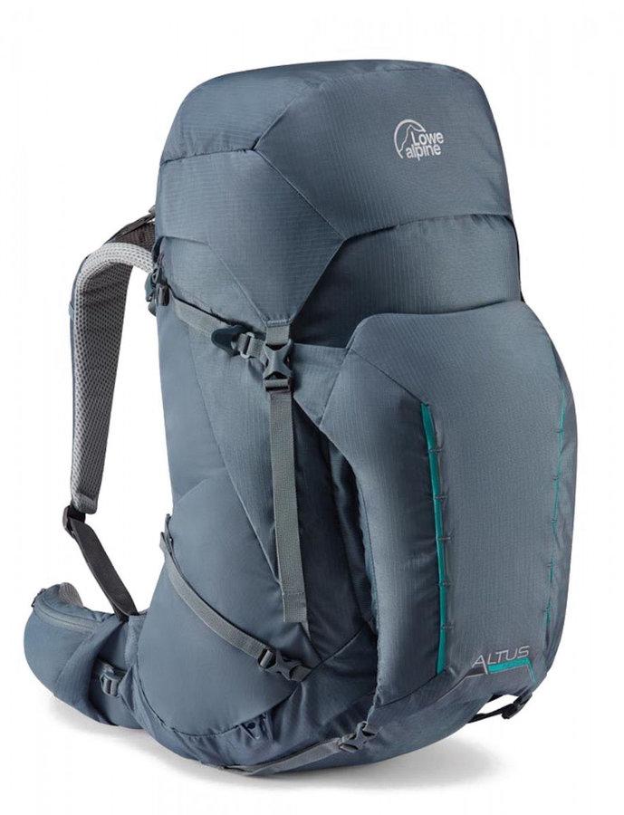 Modrý skialpový batoh Lowe Alpine - objem 55 l