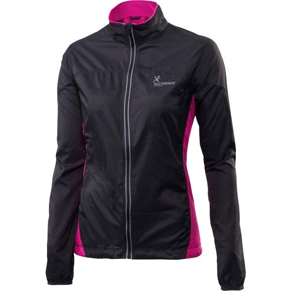 Černá dámská běžecká bunda Klimatex - velikost XL