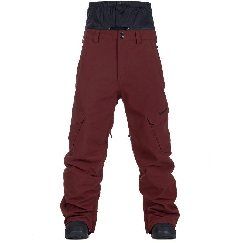 Červené pánské snowboardové kalhoty Horsefeathers