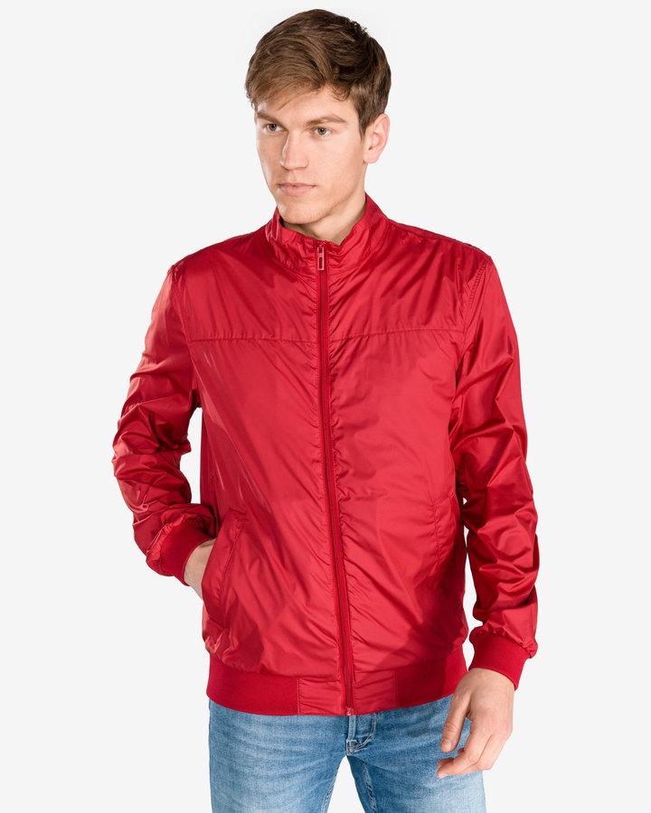 Červená pánská bunda Geox