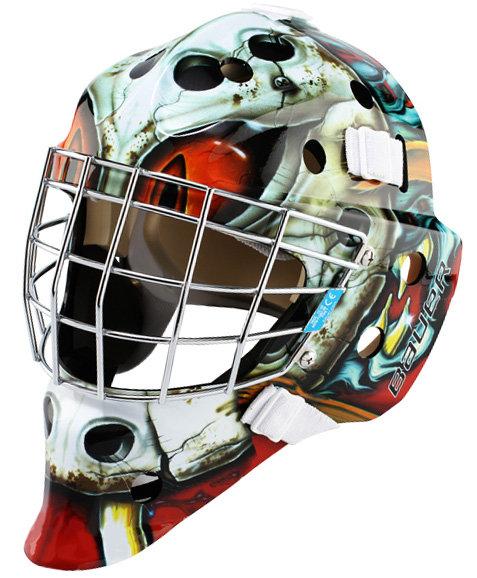 Brankářská maska - Brankářská maska Bauer NME 3 Senior Predator Red Provedení: Predator Red