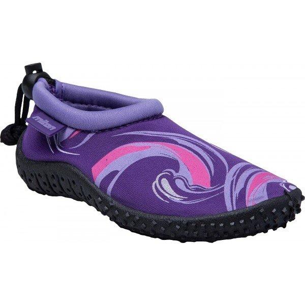 Fialové pánské boty do vody Miton