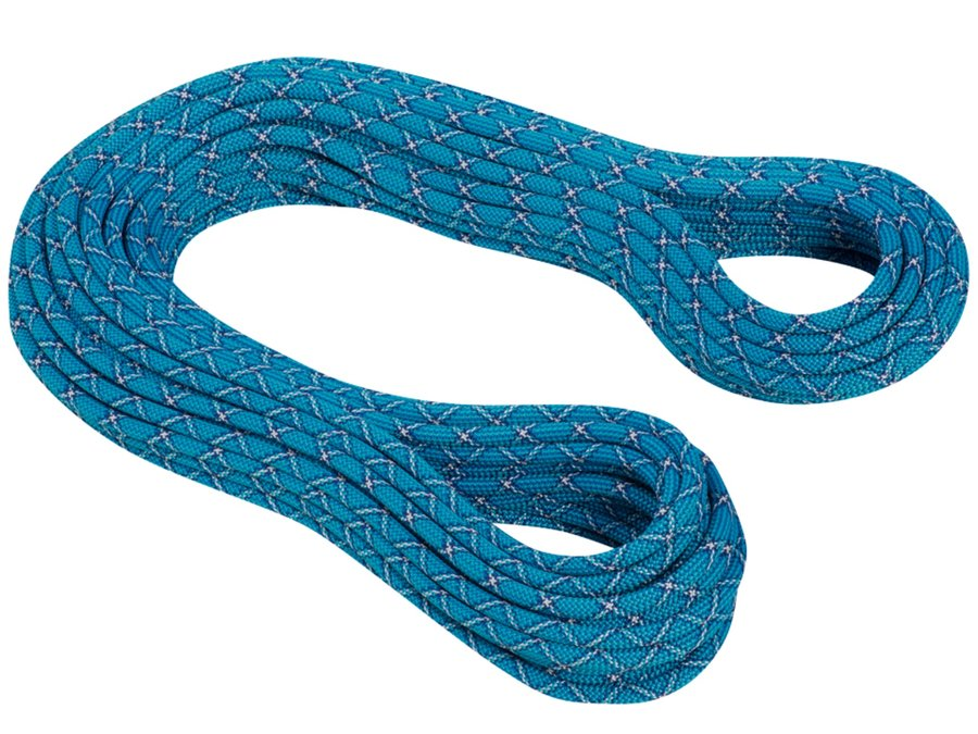 Modré lano Infinity Protect, MAMMUT - průměr 9,5 mm a délka 50 m