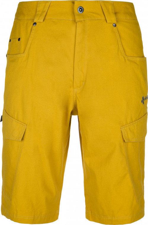 Žluté sportovní pánské kraťasy Kilpi