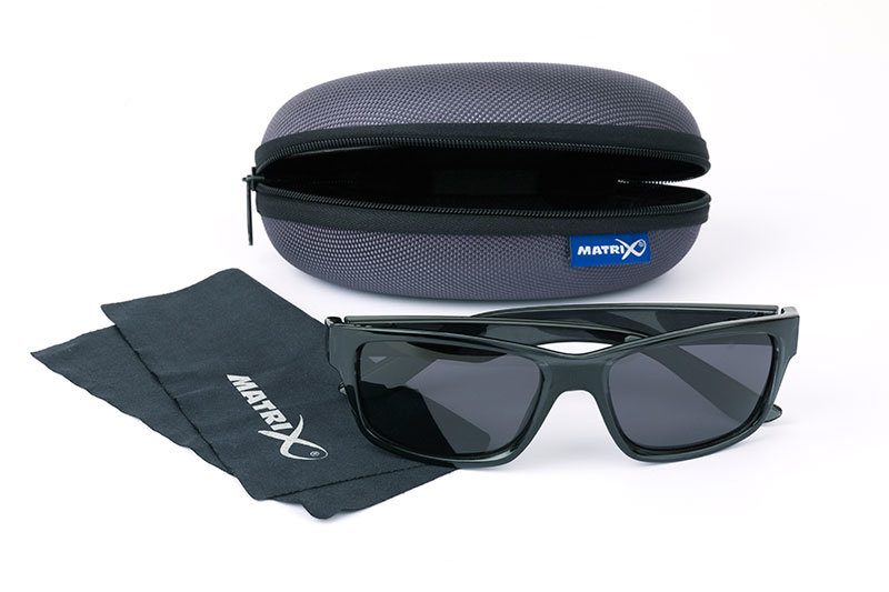 Polarizační brýle - MATRIX POLARIZAČNÍ BRÝLE TRANS BLACK Casual GSN002