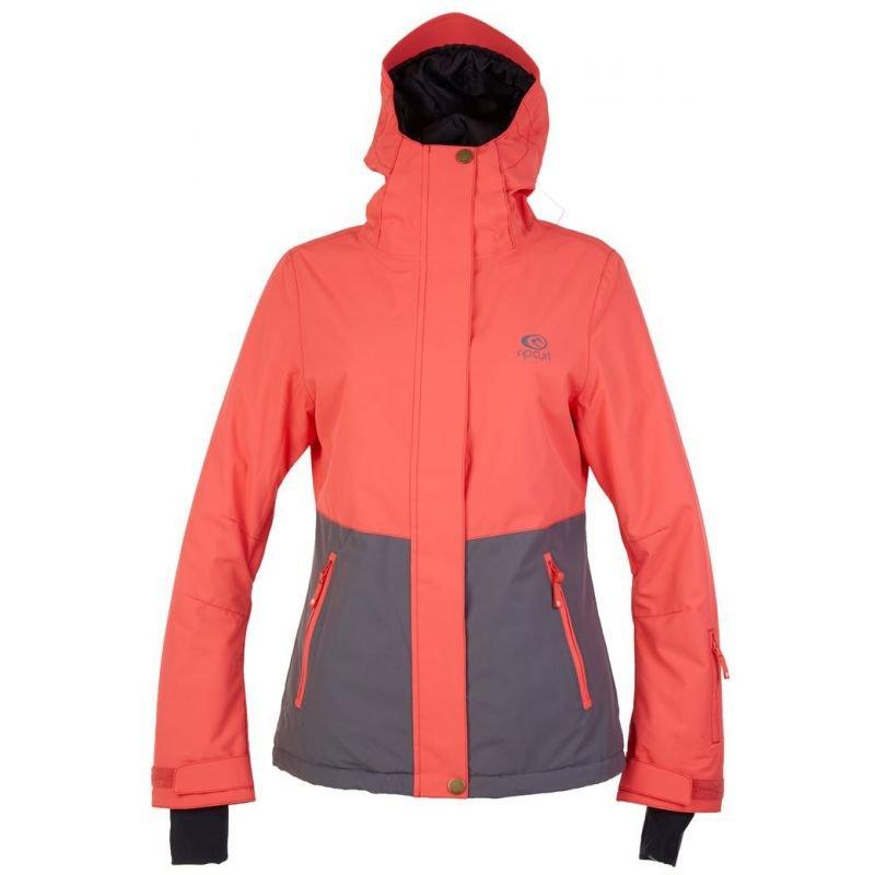Oranžová dámská snowboardová bunda Rip Curl - velikost S