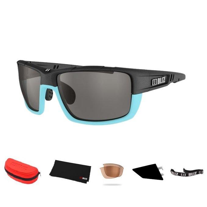 Cyklistické brýle - Sportovní sluneční brýle Bliz Tracker Ozon modré