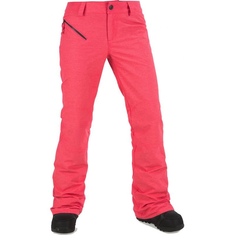 Růžové dámské snowboardové kalhoty Volcom