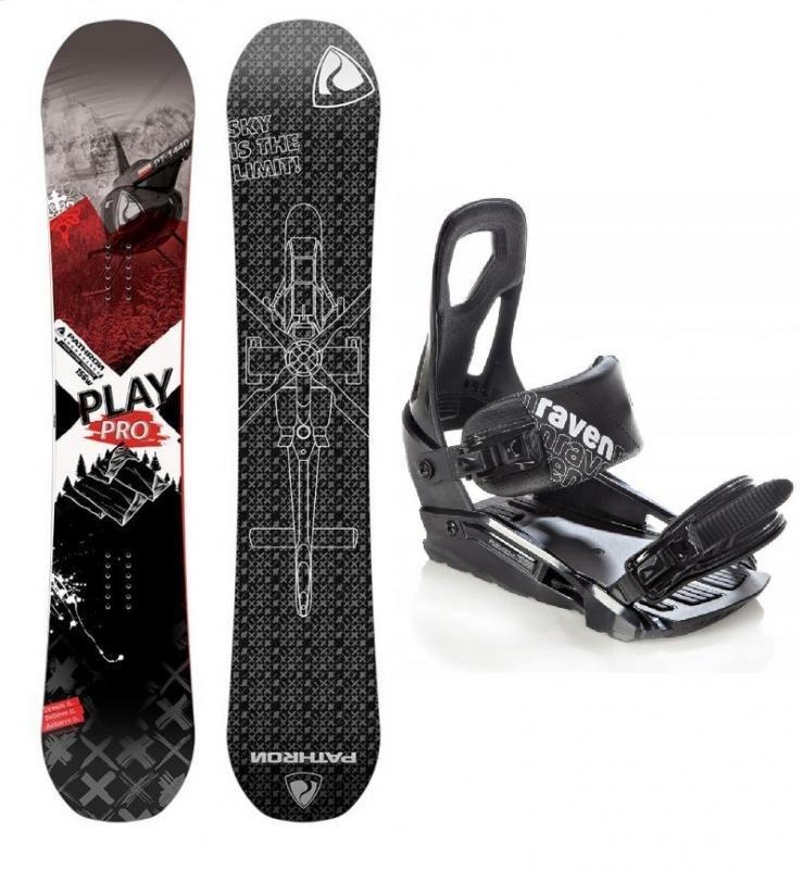 Snowboard s vázáním Pathron