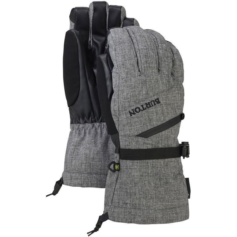 Šedé zimní rukavice Burton - velikost M