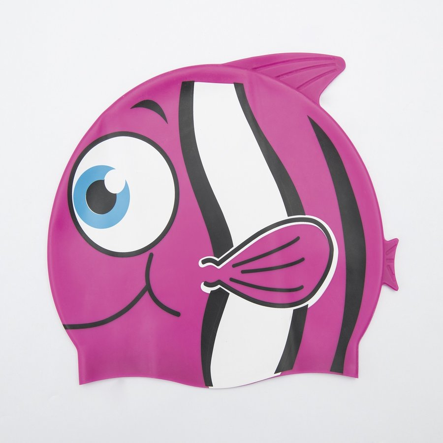 Růžová dětská chlapecká nebo dívčí plavecká čepice Hydro Swim Buddy, Bestway