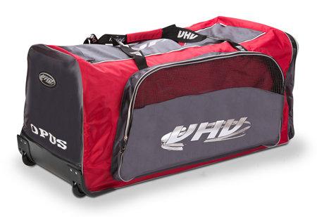 Hokejová taška - Taška na kolečkách Opus 4088 SR červeno-šedá
