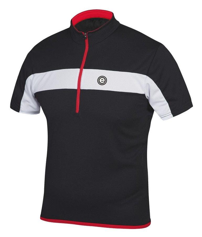 Černý pánský cyklistický dres Etape