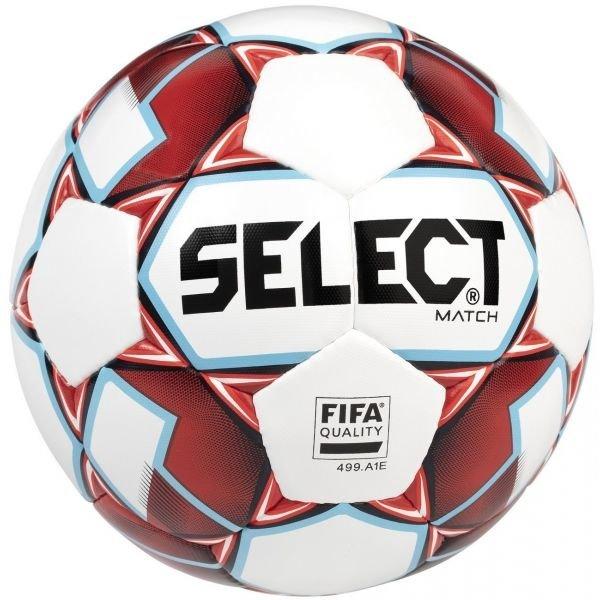 Bílo-červený fotbalový míč Select