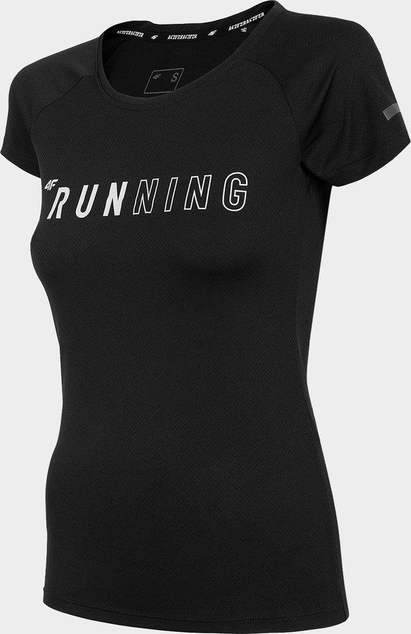 Černé dámské běžecké tričko 4F