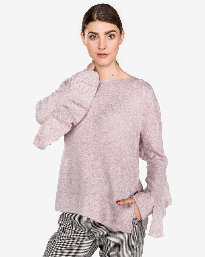 Růžový dámský svetr French Connection