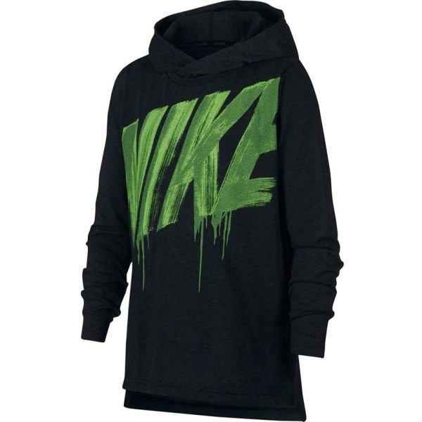 Černá dětská mikina s kapucí Nike - velikost M