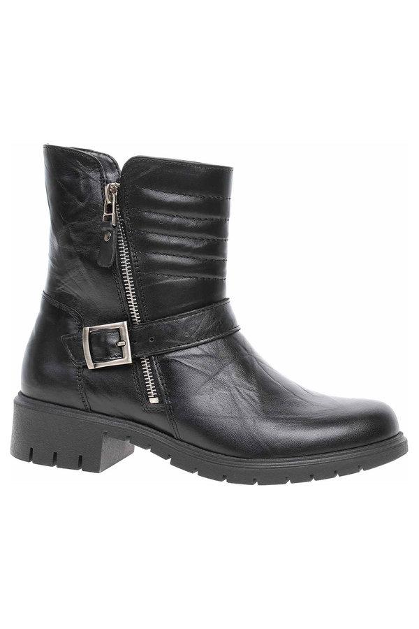 Černé dámské zimní boty Rejnok Dovoz