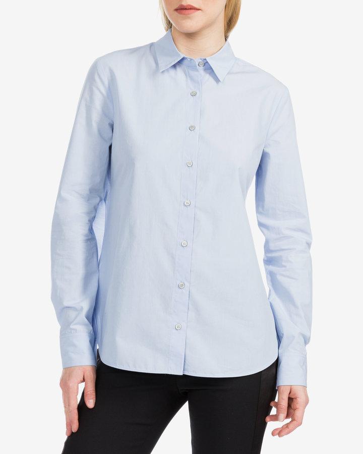 Modrá dámská košile s dlouhým rukávem Pinko - velikost XS