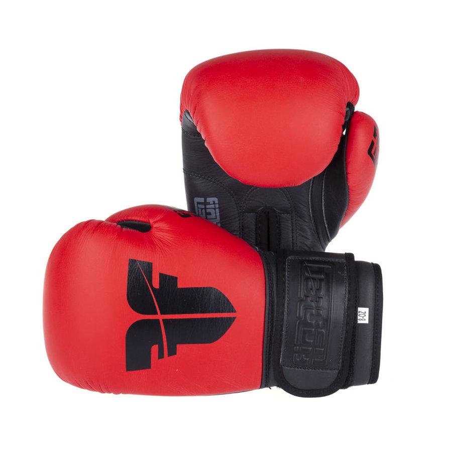 Červené boxerské rukavice Fighter