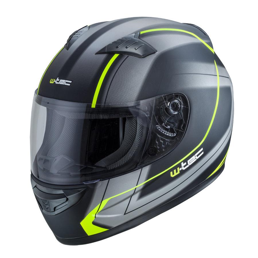 Helma na motorku FS-805, W-TEC