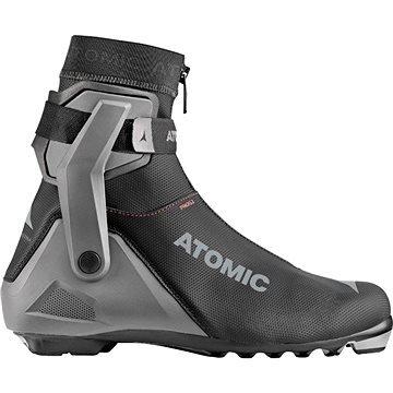 Černo-šedé pánské boty na běžky Atomic - velikost 44 1/3 EU