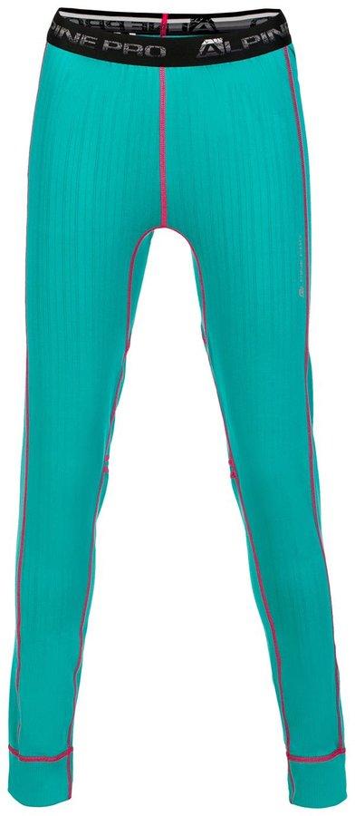 Zelené dámské funkční kalhoty Alpine Pro