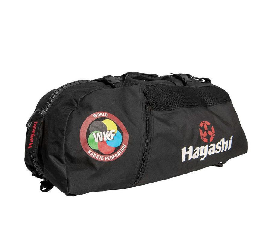 Černá sportovní taška Hayashi