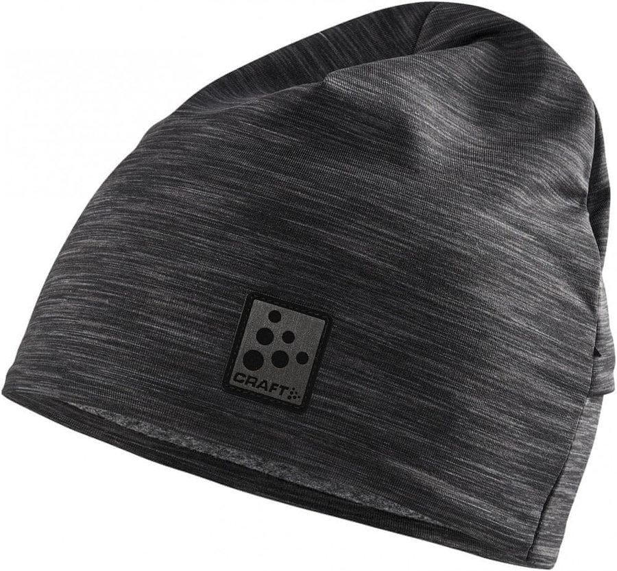 Černá běžecká čepice Craft - univerzální velikost