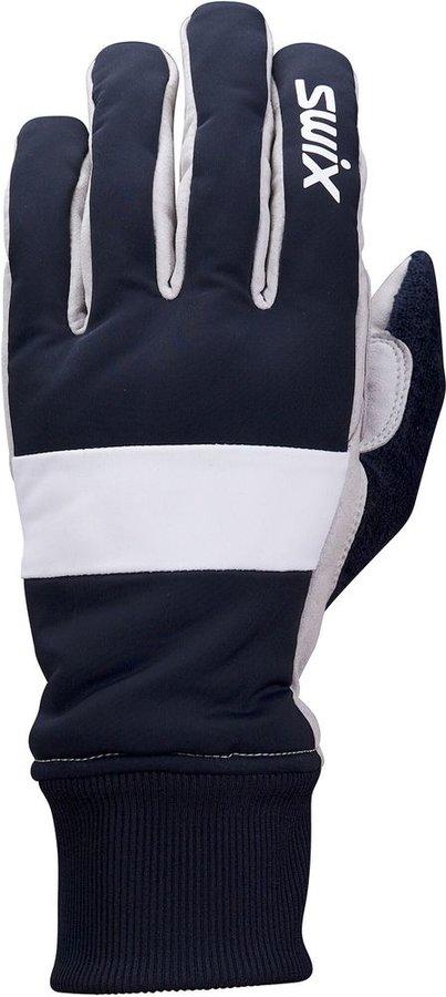 Modré pánské rukavice na běžky Swix