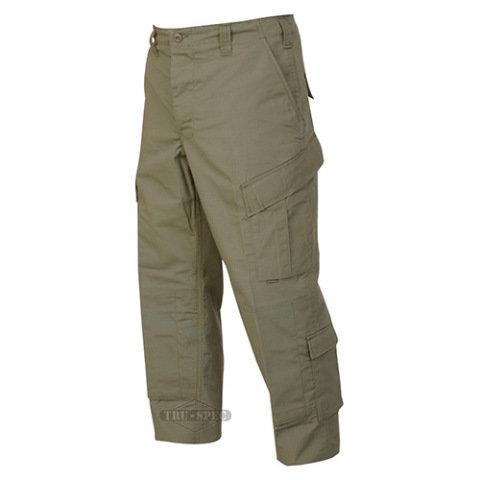 Kalhoty - Kalhoty TRU P/C rip-stop ZELENÉ