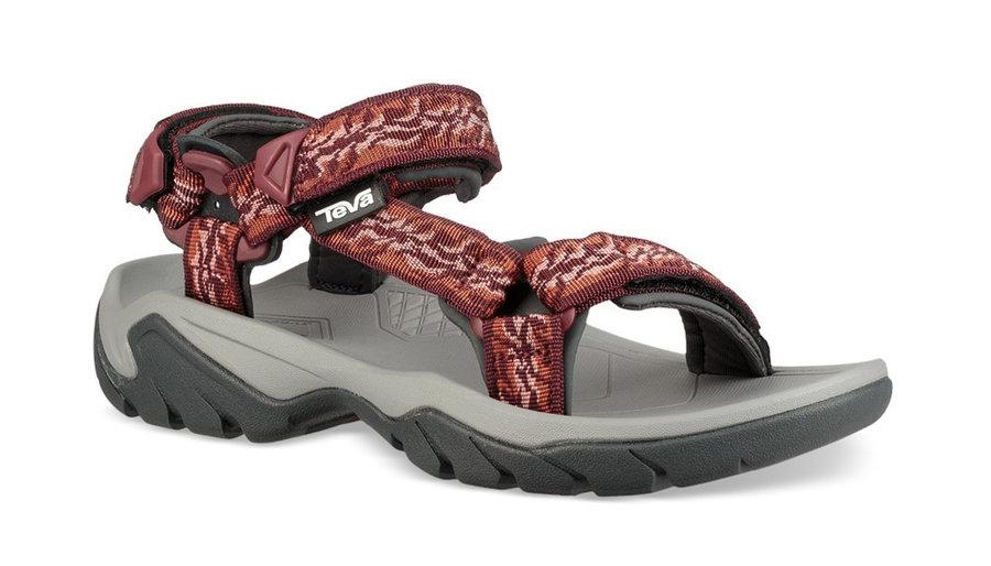 Červené dámské sandály Teva - velikost 42 EU