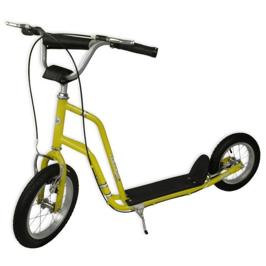 Žlutá dětská koloběžka Sport Street, Sedco - nosnost 65 kg