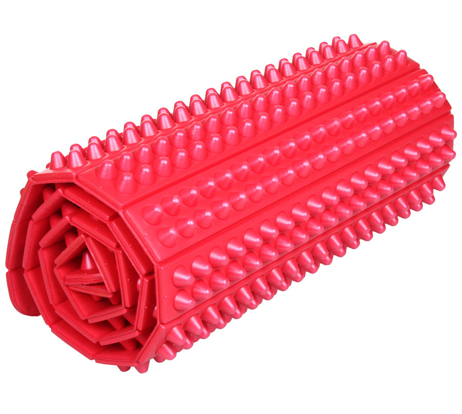 Červená podložka na jógu Merco - délka 103 cm