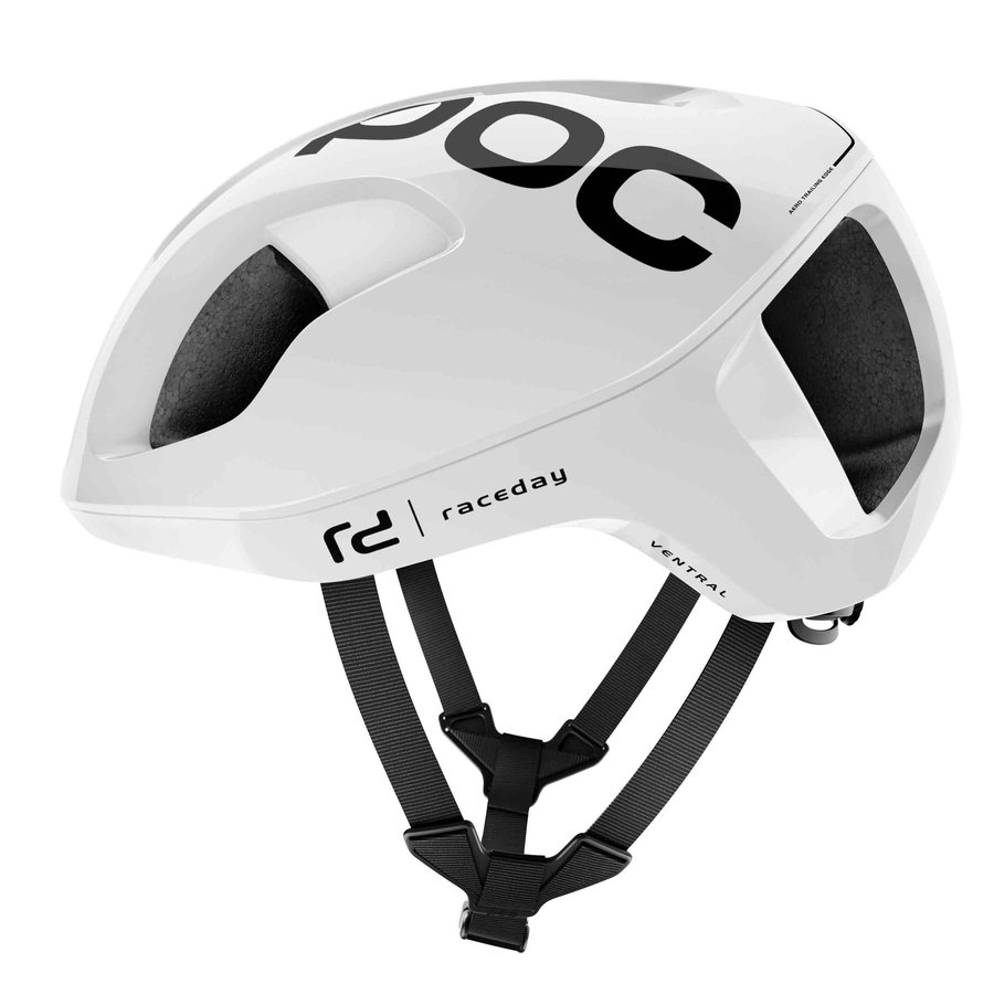 Bílá cyklistická helma POC