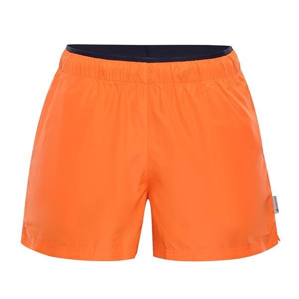 Oranžové sportovní pánské kraťasy Hinat, Alpine Pro