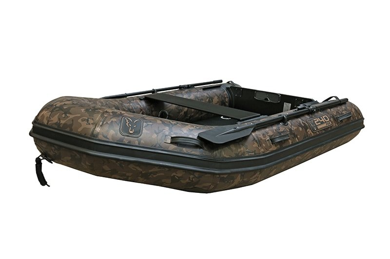 Člun - Fox Nafukovací člun 240 Camo Inflable Boat 2,4m - Air Deck Black