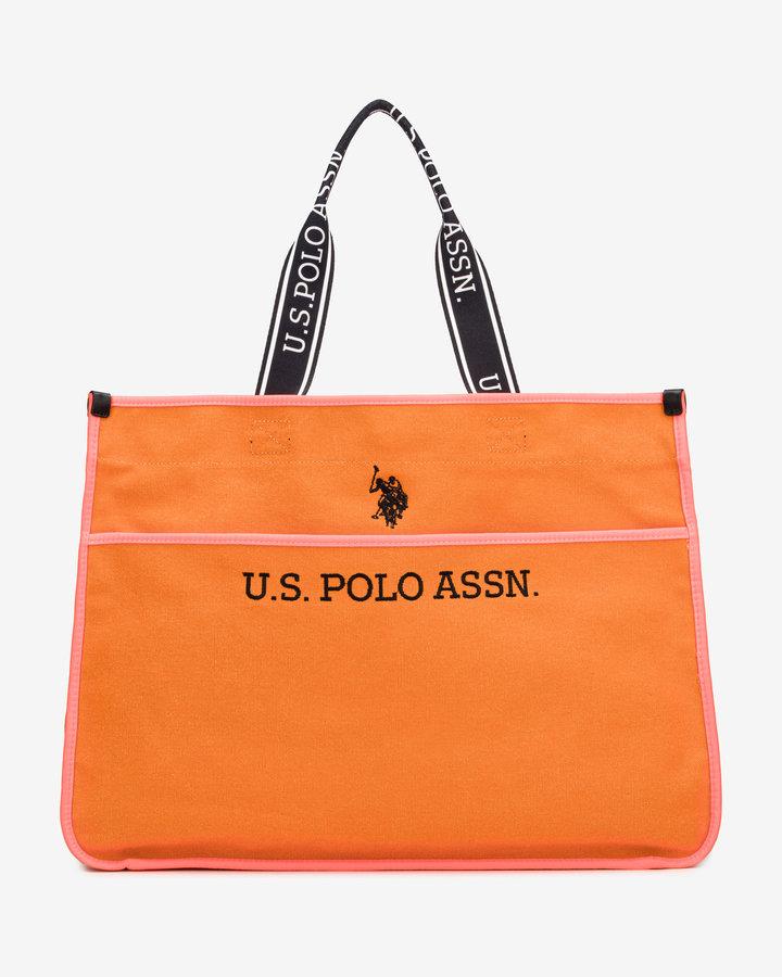 Oranžová dámská kabelka U.S. Polo ASSN