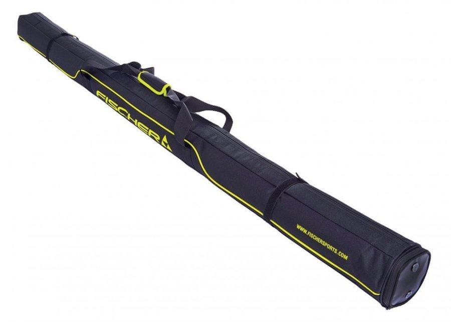 Černý vak na lyže Fischer - délka 210 cm